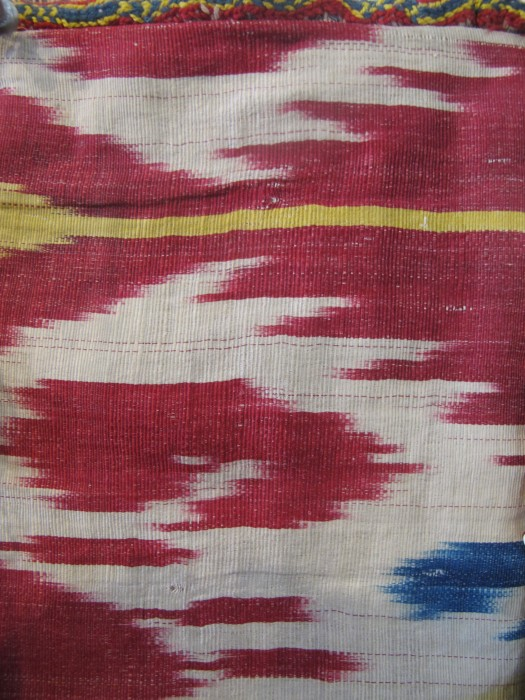 Double-Sided Silk Ikat Purse