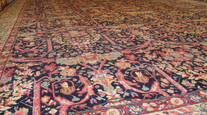 Glorious Fine Tabriz Carpet