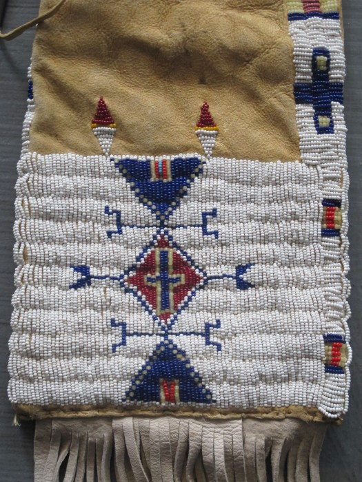 Native American Tobacco Pouch