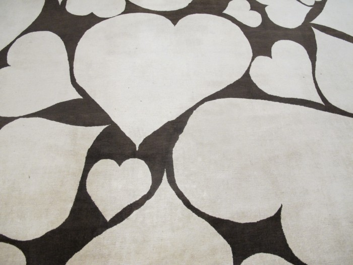 'Hearts' Carpet by Vivienne Westwood