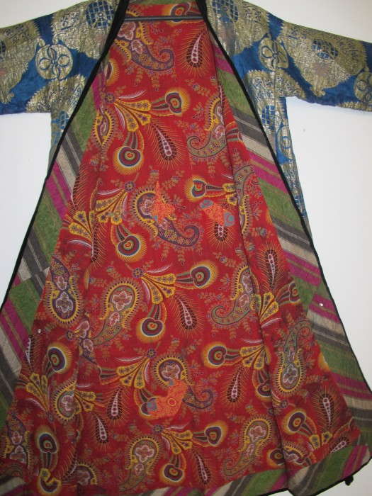 Silk Brocaded Coat, Uzbekistan
