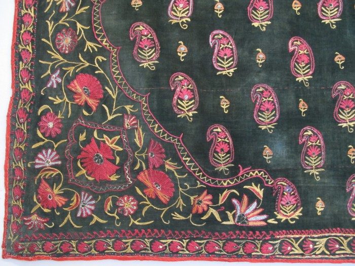 Indian Embroidery on Velvet