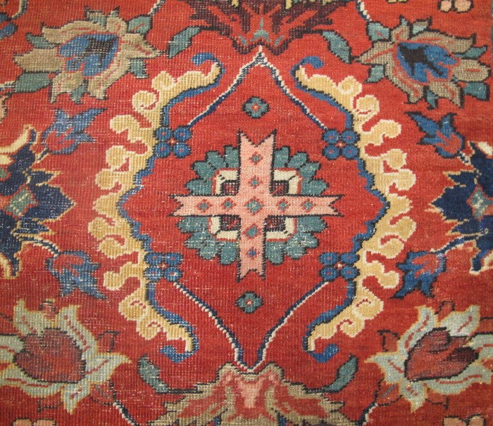 Superb Large Sultanabad Carpet