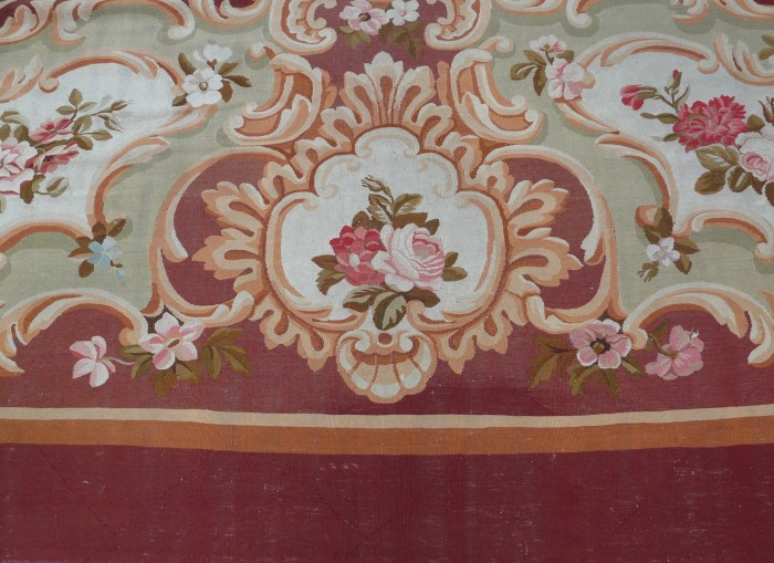 Spectacular Aubusson carpet