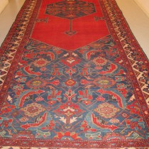 Image of Massive Kurdish Corridor Carpet