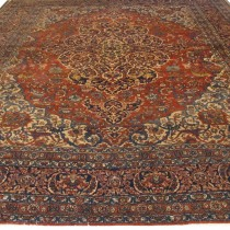 Image of Exceptional Isfahan Carpet, 4.16m x 3.10m