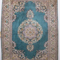 Image of Fine Turkish Silk Rug