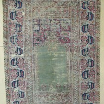Image of Ghiordes Prayer Rug
