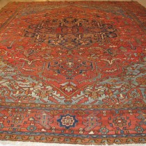 Image of Oversize Heriz Carpet