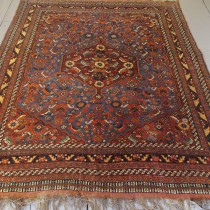 Image of Medallion Khamseh Rug