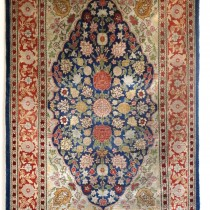 Image of Exquisite Miniature Silk Rug