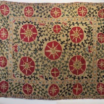 Image of Samarkand Silk Embroidered Suzani