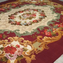 Image of 19th Century Aubusson Carpet