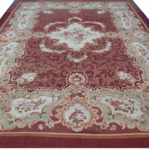 Image of Spectacular Aubusson carpet